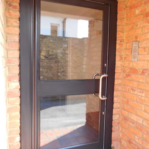 Aluminium Door with Extended Frame