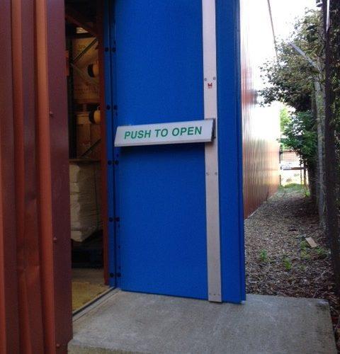 LPS1175 Security Door Fire Escape 2