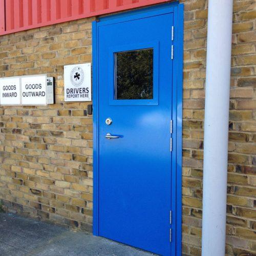 LPS1175 Security Door Glazed