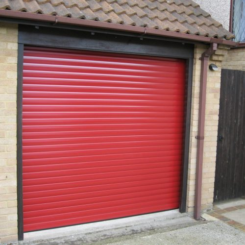 Roller garage shutter
