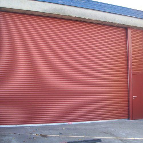 warehouse shutter